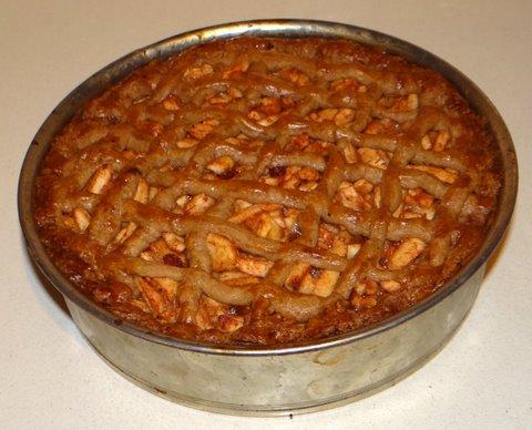 Torta di mele all 39 olandese for Cucinare a 70 gradi