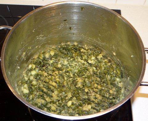 with mashed boerenkool kale with mashed boerenkool mashed potatoes