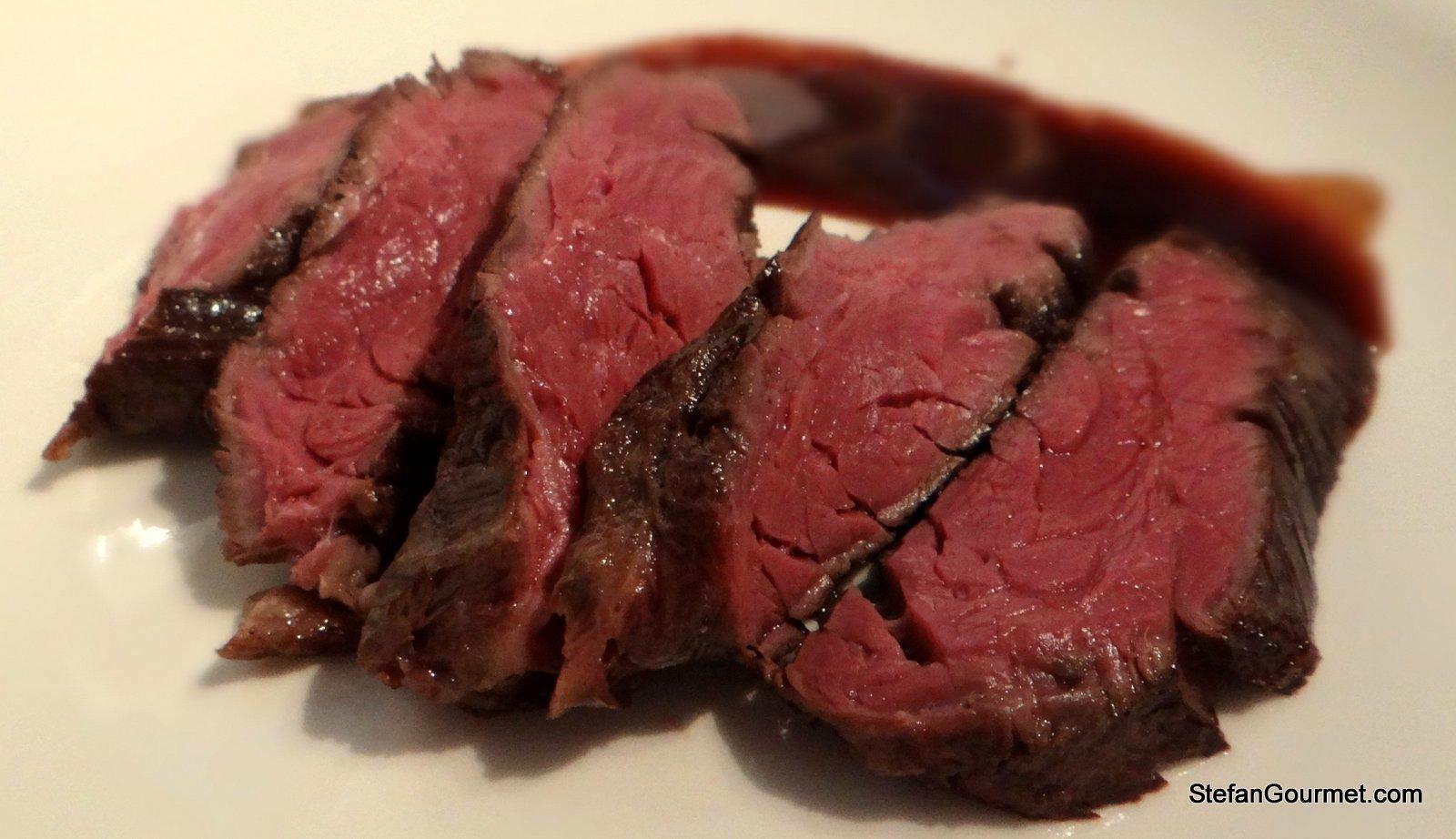 Sous-Vide Steaks Recipe — Dishmaps