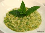 Risotto with Peas and Mint (Risotto ai Piselli e Menta)