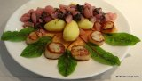 Scallops with Radishes and SorrelSauce
