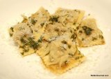 Chicken Ravioli with Sage