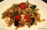 Eggplant Caprese PastaSalad