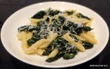 Penne with Cavolo Nero and Parmigiano