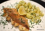 Rose Fish Sous-Vide with Lemon-Roasted Cauliflower