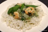 Thai Green Curry with Shrimp