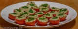 Vine-ripened Tomatoes Stuffed with Ricotta, Basil and Balsamic