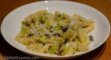 Penne with Leeks and Pancetta (Penne con Porro ePancetta)