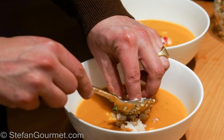 Auldo's Lobster Bisque – Stefan's Gourmet Blog