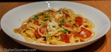 Spaghetti all'Acqua Pazza (Spaghetti with Fish andTomatoes)