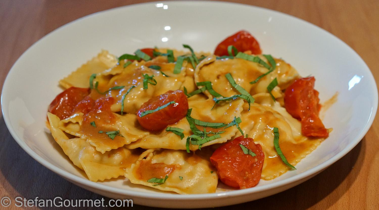 Lobster Ravioli (Ravioli all'Astice) – Stefan's Gourmet Blog