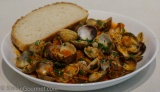 Vongole alla Marinara (Clams in Tomato Sauce)