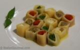 Soqquadri Pasta with 'deconstructed' EggplantParmigiana