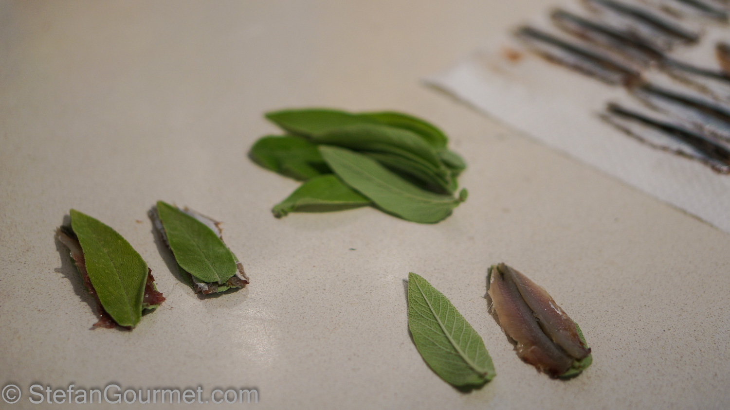 Fried Sage with Anchovies (Salvia Fritta con Acciughe ...