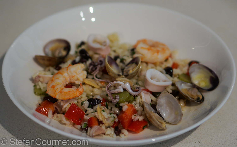 Rice and Seafood Salad (Insalata di Riso e Frutti di Mare) | Stefan's ...