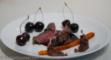 Pigeon with Cherries