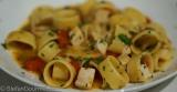 Calamarata Pasta with Swordfish Ragù (Calamarata con Ragù di PesceSpada)