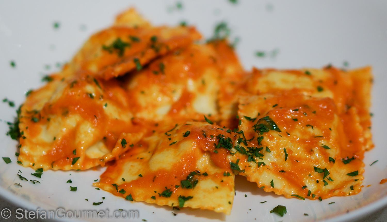 Lobster Ravioli With Shrimp Sauce | Lobster House