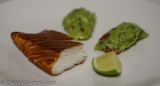Hot-Smoked Halibut with Guacamole