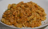 Fusilli with Crab and Fennel