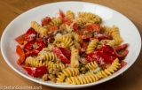 Pasta with Sausage and Bell Pepper (Fusilli Salsiccia e Peperone)