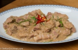 Thai Panang Curry Pork Belly Sous-Vide