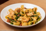 Pasta with Jumbo Shrimp and Samphire (Pasta con Gamberoni e Salicornia)