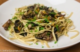 Tagliolini ai Funghi di Bosco (Fresh Pasta with Wild Mushrooms)