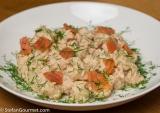 Celeriac Gnocchi with Smoked Salmon (Gnocchi di Sedano Rapa con SalmoneAffumicato)