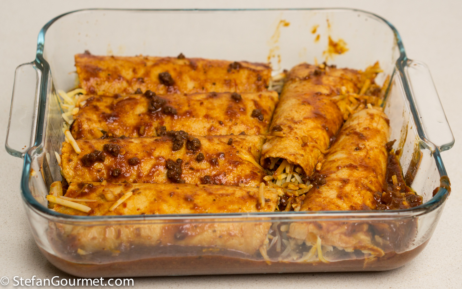 Cheese Enchiladas with Chilli con Carne – Stefan's Gourmet ...