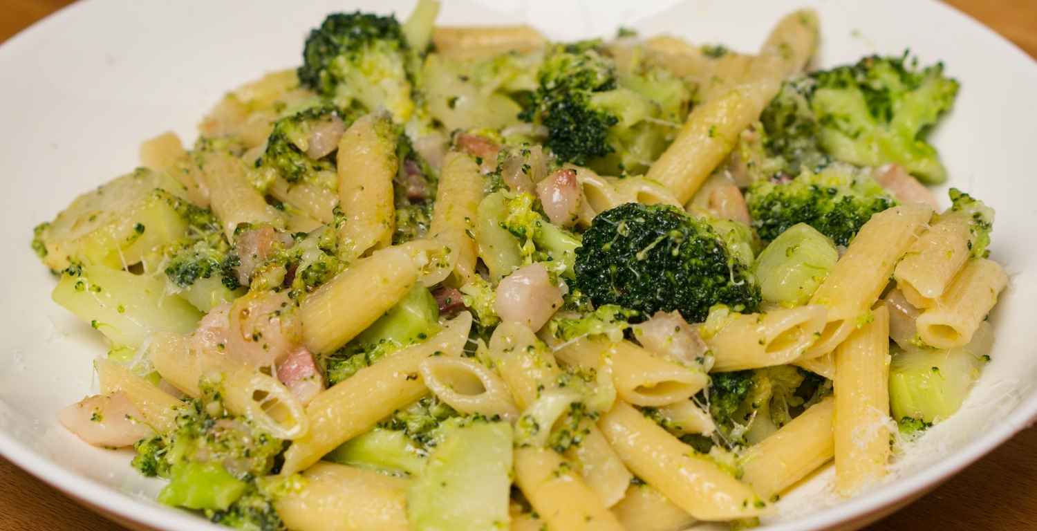 Pasta with broccoli and pancetta stefans gourmet blog pasta with broccoli and pancetta forumfinder Gallery