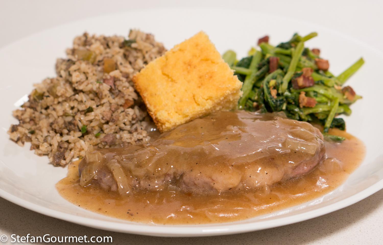 soul food part 2 smothered pork chops stefan 39 s gourmet blog