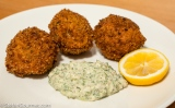 Fish and Parsnip Balls with Tarragon
