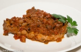 Pork Chops in Piquant Sauce