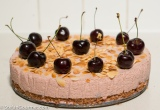Quark Cake with Cherries (Kwarktaart met Kersen)