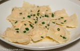 Smoked Salmon Ravioli with Whiskey Sauce (Ravioli al Salmone Affumicato con Whiskey)
