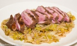 Five-Spice Duck with Napa Cabbage and Noodles