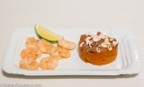 Shrimp, Pumpkin, and Almonds