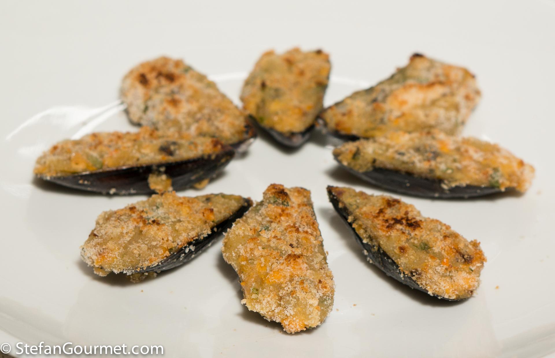Fabuleux Tigres o Mejillones Rellenos (Stuffed Mussels Tapas) – Stefan's  LN43