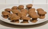 Homemade Marzipan Mushrooms