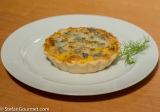 Caramelized Fennel and Gorgonzola Tartlets
