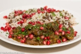 Lamb Stew with Chestnuts and Pomegranate (Nar Govurma Sous-Vide)