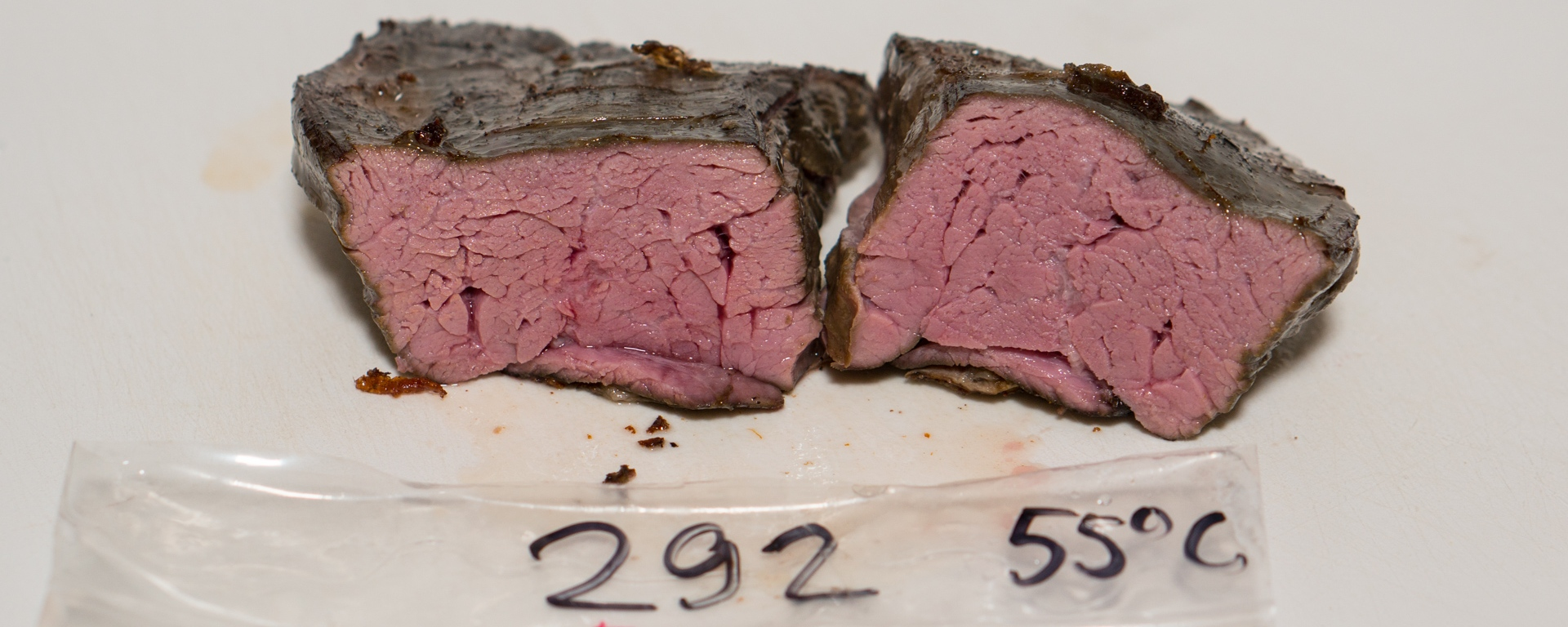 flank steak sous vide temperature experiment stefan 39 s gourmet blog. Black Bedroom Furniture Sets. Home Design Ideas