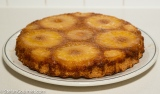 Pineapple & Coconut Upside-Down Cake