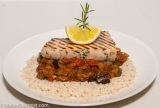 Grilled Swordfish with Ratatouille