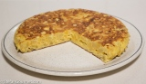 Tortilla de Patatas o Tortilla Española (Spanish PotatoOmelette)