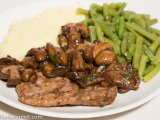 Veal Escalope with Mushrooms and Marsala (Scaloppine ai Funghi eMarsala)
