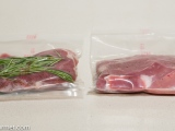 Sous-Vide With or Without Herbs in theBag?