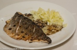 Grilled Sea Bream and Fennel