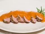 Pork Tenderloin with Apricot GingerSauce